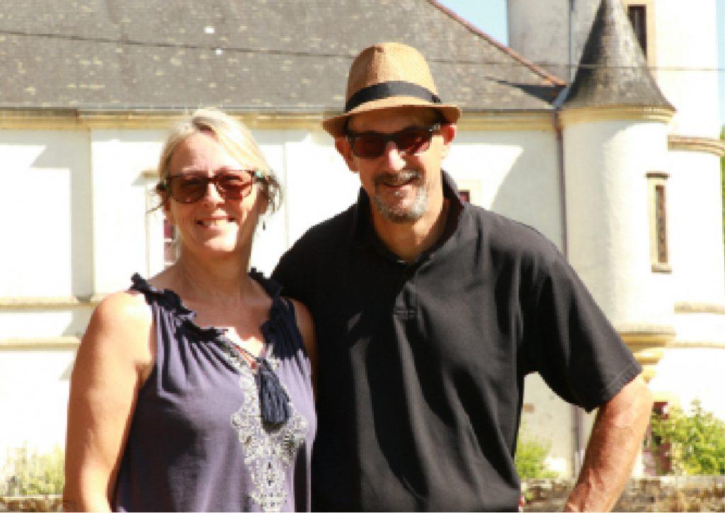 Angela and Steve Chateau Caillac