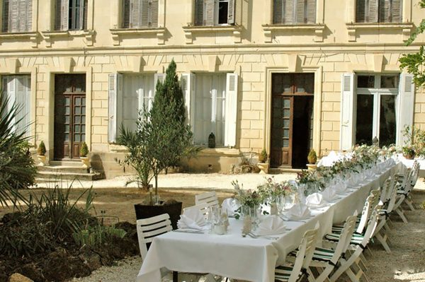 La Grande Maison - Outside the Chateau