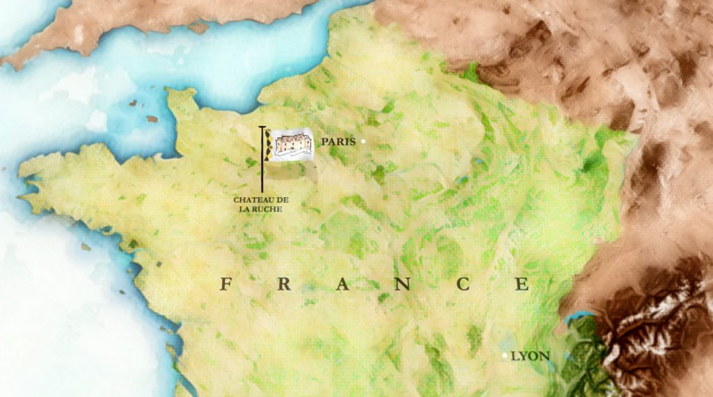 chateau de la ruche map