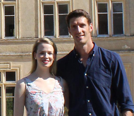 Erin and Jean - Chateau de Bourneau