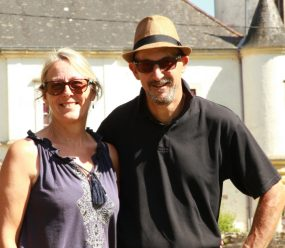 Angela and Steve - Chateau Caillac