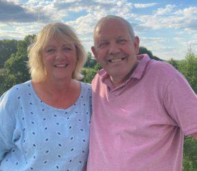 Debbie and Nigel - Chateau Gioux