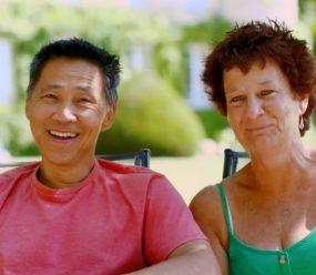 Debbie and Simon - Chateau Les Bernards