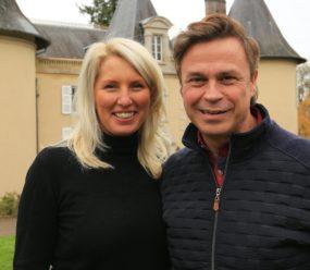 Matt and Helen - Chateau la Briance